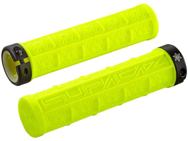 Supacaz Grizips Puños, neon yellow